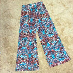 Boho/hippie wide leg pants